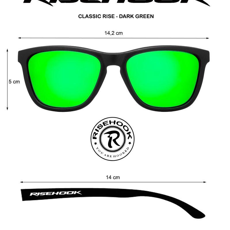 Medidas Classic Rise Dark Green