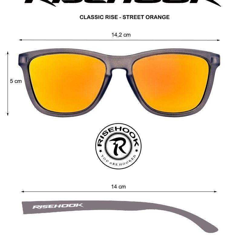 Medidas Classic Rise Street Orange
