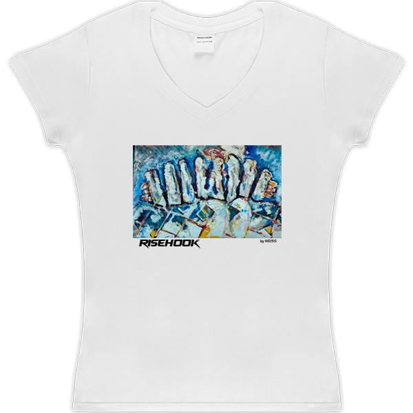 Camiseta-de-autor-Cheer-bandodios-blanca