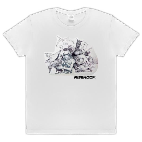 Camisetas de autor Feel Orda blanca
