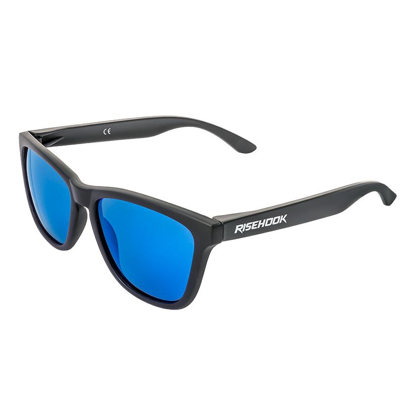 Gafa de sol polarizada dark Blue Azul Lateral