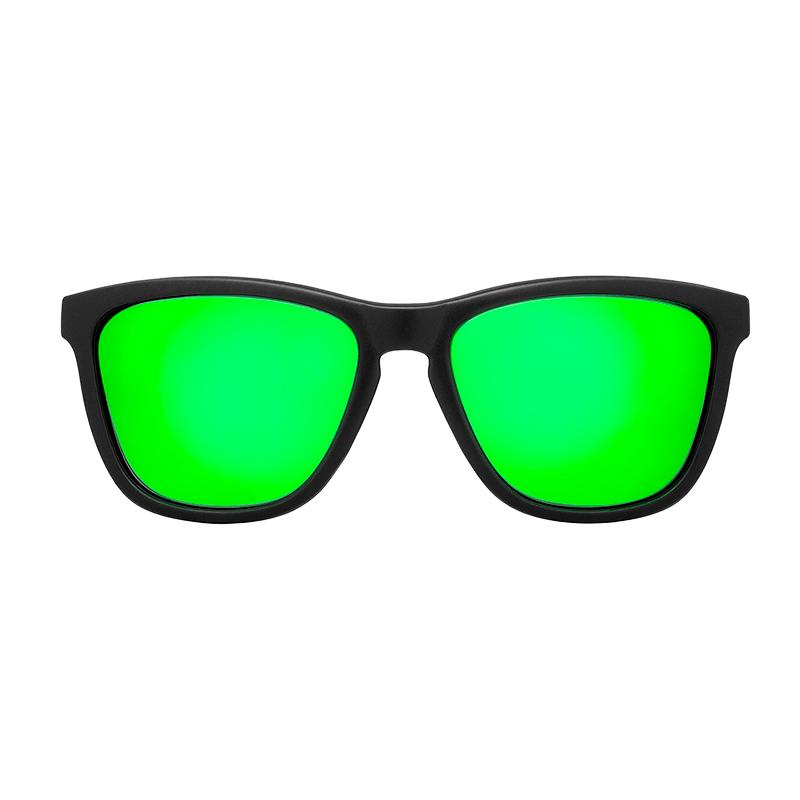 Gafa de sol polarizada dark green verde Frontal
