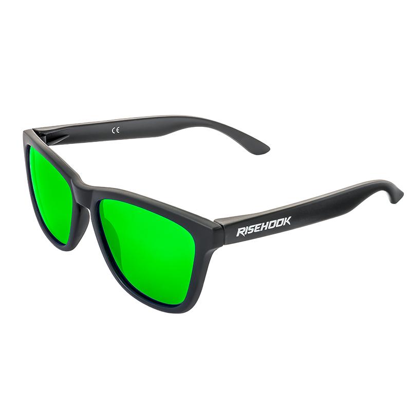 Gafa de sol polarizada dark green verde Lateral