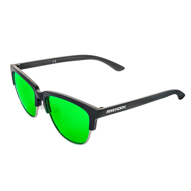 Gafa de sol polarizada matte green verde lateral