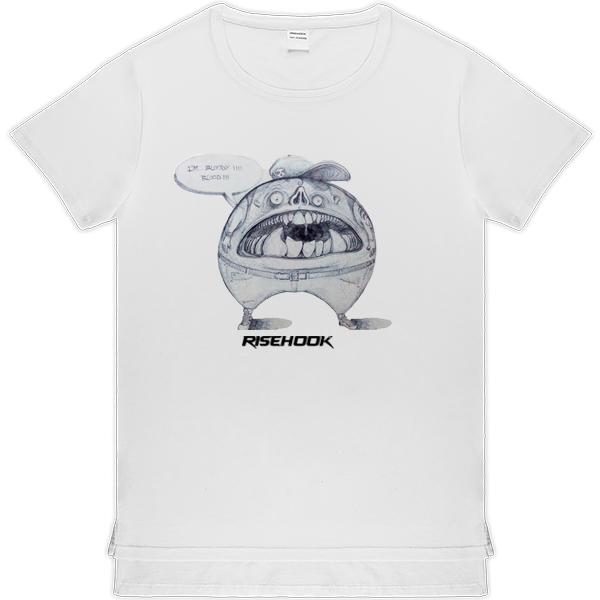 Camisetas de autor Trend Bloody blanca