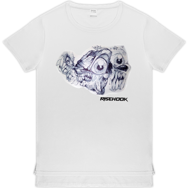 Camisetas de autor Trend Cronenberg blanca