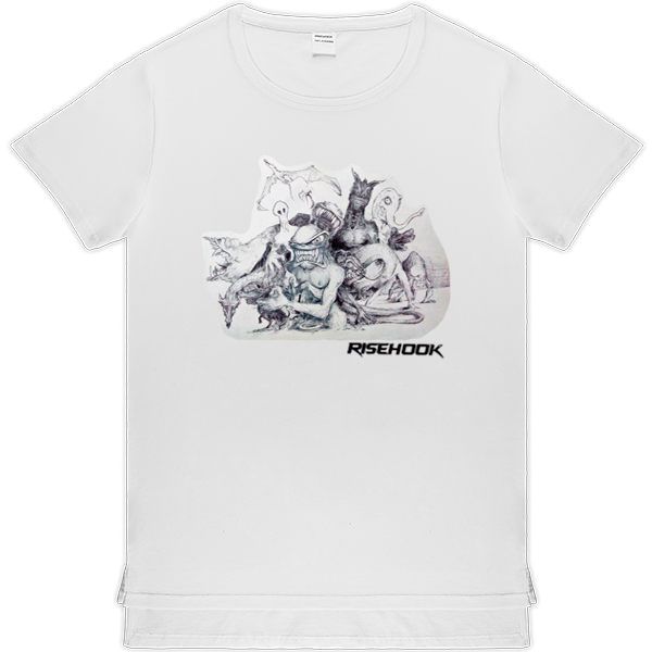 Camisetas de autor Trend Orda blanca