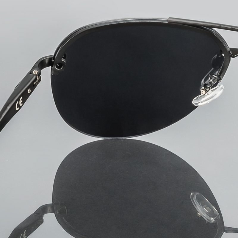 Gafa de sol polarizada Emir gray detalles interior